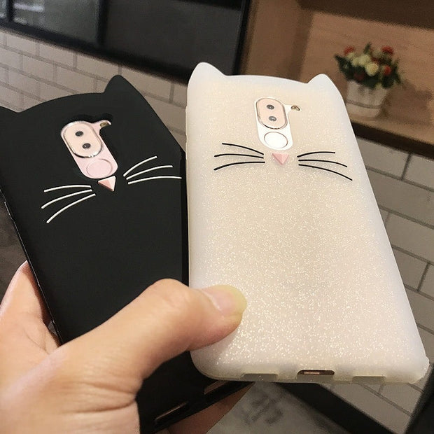 For Cover Huawei Honor 6X Case Huawei Mate 9 Lite Case 5.5 Soft Silicone Cat Phone Cases For Huawei Honor 6X GR5 2017 Back Cover