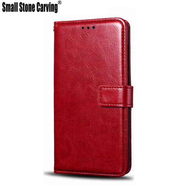 For HTC U11 Case Vintage Pu Leather With Soft Silicone TPU Cover Flip Capa For HTC U11 5.5inch Wallet Cover U 11