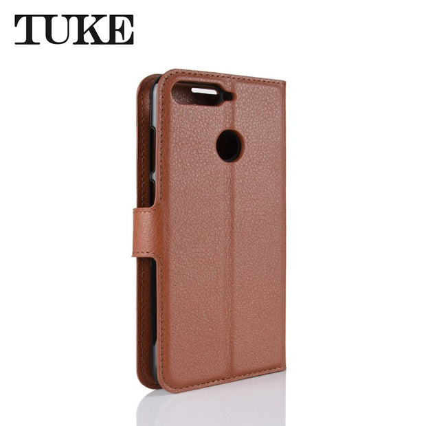 For Huawei Enjoy 8E Case Luxury Leather Flip Wallet Back Case For Huawei Enjoy8E Stand Capa Cover For Huawei Y6 2018 Case
