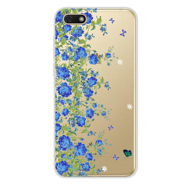 For Huawei Honor 7A Case 5.45 Inch Transparent Soft Silicone Back Cover For Case On Huawei Honor 7A Case Cover DUA-L22 Honor7A