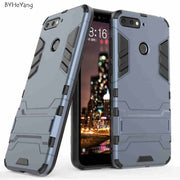 For Huawei Honor 7A Pro Case Huawei Y6 2018 Cover Hybrid Silicone TPU Back Cover Phone Case For Huawei Honor 7A Pro AUM-L29 Case