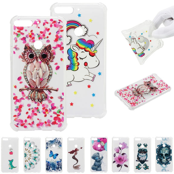 d3101756745 For Huawei Honor 7C Pro Case Soft TPU Silicone Cases For Huawei Honor