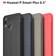 For Huawei P Smart Plus Case 6.3 Huawei P Smart+ Cover Silicone Shockproof Slim Carbon Fiber Case Cases For Huawei Nova 3i Coque