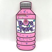 Boys tears bottle