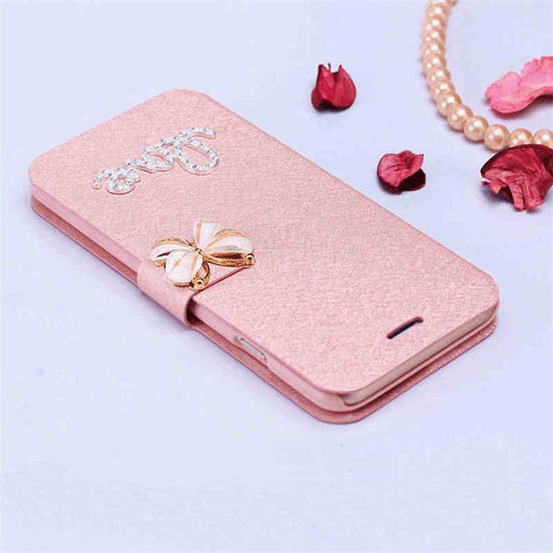 For Huawei Y635 P7 NOVA G8 / G7 Plus Luxury Classic Flip Stand Cover PU Leather Case For HuaWei Honor 4X 7 Protective Phone Bag