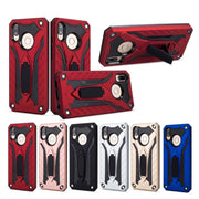 For Huawei Nova 3i Case Silicone Soft Armor Hard PC Bracket Phone Cases For Coque Huawei Nova 3 I Nova 3 Back Cover