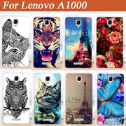 For Lenovo A1000 Case Fashion Lovely Cute Design Paiting Back Cover Case For Lenovo A1000 A 1000 Phone Cases Free Shipping