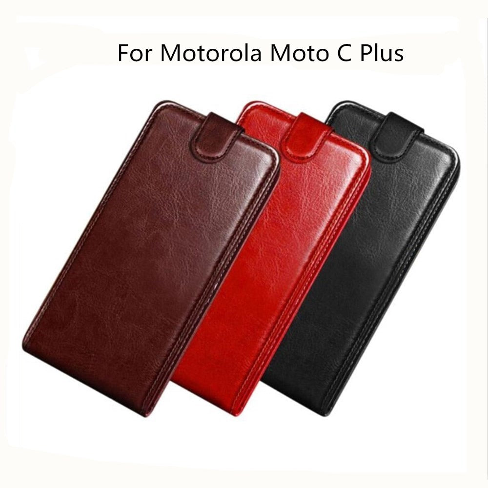 brand new 07789 ce7e0 For Motorola Moto C Plus Case Wallet PU Leather Back Cover Phone Case For  Lenovo Motorola Moto C Plus XT1723 XT1724 Case Flip