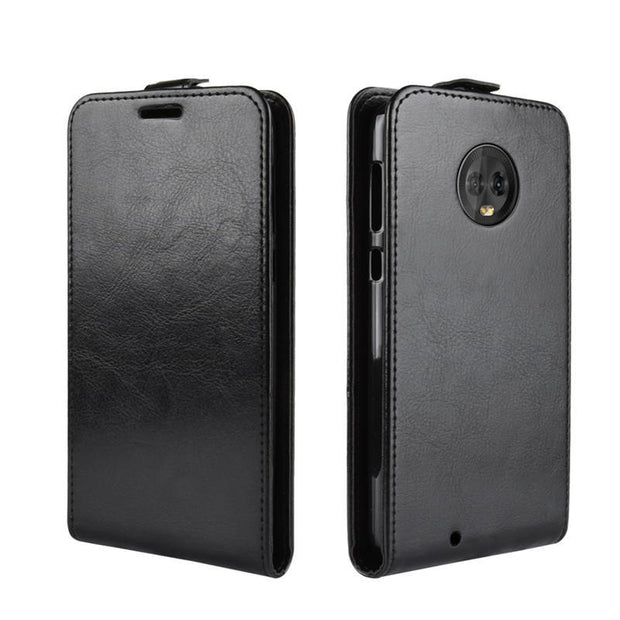 For Motorola Moto G6 Case Moto G6 Case PU Leather Back Cover Phone Case For Motorola Moto G6 G 6 XT1925 Case Flip Capa Funda