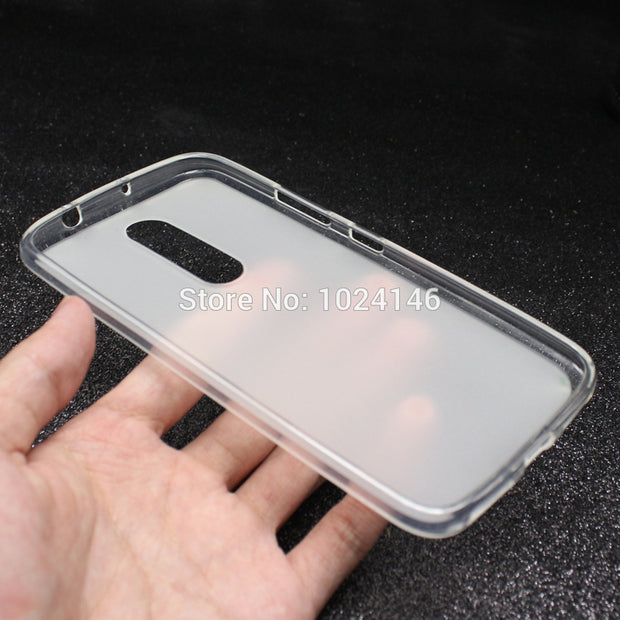 "For Motorola Moto M 2016 XT1662 5.5"" Soft TPU Case Gel Comfortable Matte Protective Phone Silicone Cover"