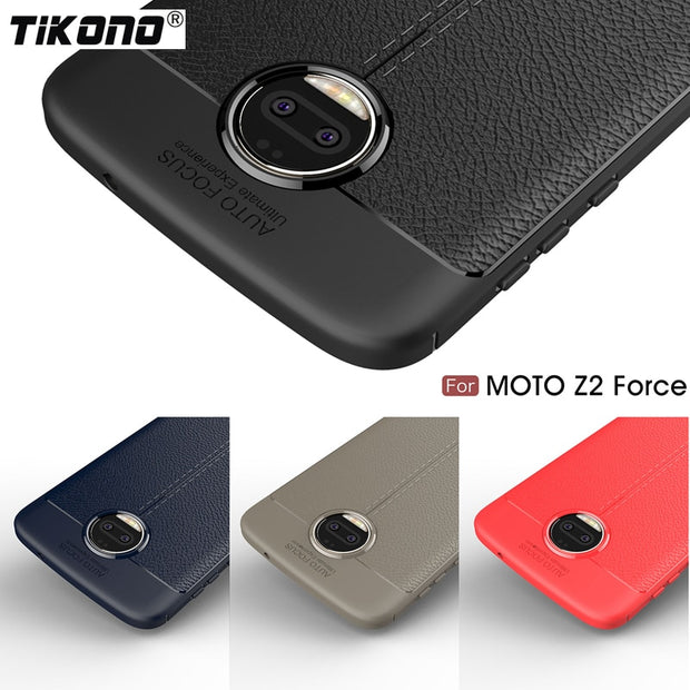detailed look 8e934 7a65d For Motorola Moto Z2 Force Case Cover Soft Silicone Leather Shockproof  Bumper TPU Back Phone Cover For Motorola Moto Z2 Force