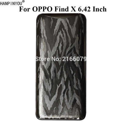 "For OPPO Find X 6.42"" Luxury 3D Black Camouflage Full Cover Back Film Matte Protective Skin Decal Sticker"