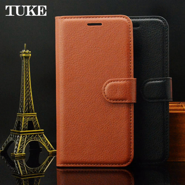 For OPPO R15 Standard Edition Flip Litchi Grain Wallet Stand Case PU Leather Phone Case For OPPO R15 Cover Card Slot