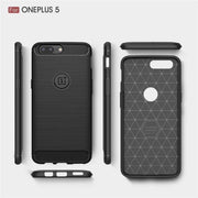 For One Plus 5/5T Soft TPU Mobile Phone Shell Anti Dropping Protective Cover Soft Shell Shockproof Case