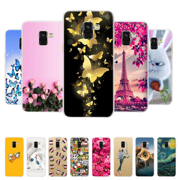 9ba82de269b For Samsung Galaxy A8 2018 Case Samsung A8 Plus A730F Silicone Soft TP