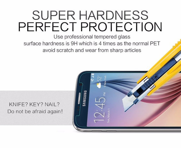 For Samsung Galaxy I9060 9082 &Grand Duos I9082 I9080 0.3 Mm Tempered Glass Screen Protector Film Steel Explosion-proof Membrane