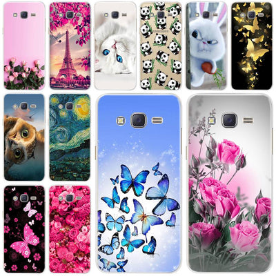 For Samsung Galaxy J3 2016 Case Cover Soft Silicone Painted Phone Cases For Samsung J3 2016 Back Cover Coque J320 J320F J320FN