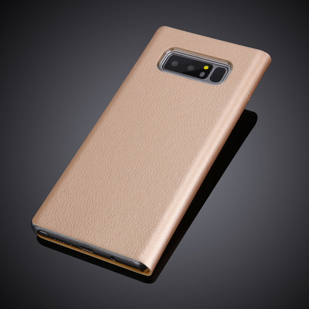 For Samsung Galaxy Note8 Note8 View Window Pu Leather Flip Cover Case Luxury New Arrival Phone Cases For Samsung Note 8