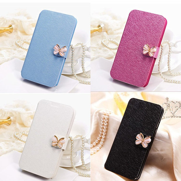 For Soni L1 Luxury Mirror Case Cover Case Flip Cover For Coque Sony Xperia L1 Case G3311 G3312 G3313 Phone Bag Kinds Of Diamond