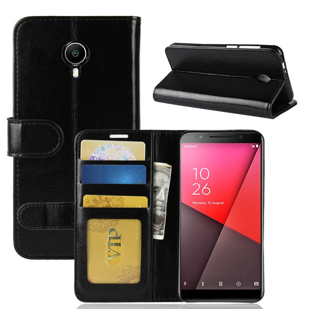 For Vodafone Smart N9 Lite Case Smart N9 Lite Case Flip Cover 5.34 PU Leather Phone Case For Vodafone Smart N9 Lite N9Lite Case
