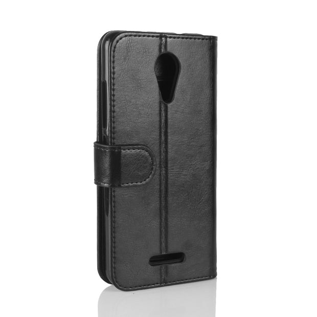 For Wiko Tommy2 Case PU Leather Back Cover Case For Wiko Tommy 2 Case Flip Protective Phone Cover Bag