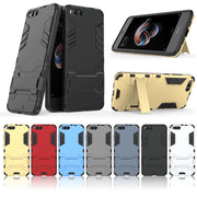 For Xiaomi Mi Note 3 Case Cover Luxury Iron Man Stand Case Hard Armor+Soft Silicone TPU Cover For Xiaomi Mi Note 3