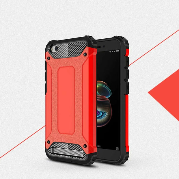 For Xiaomi Redmi 5A Case Luxury High Quality Shell Shockproof Rubber Case Cover For Redmi 5A Back Cover 5.0""