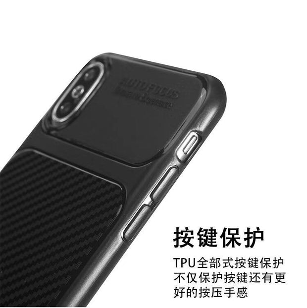 For IPhone X 8 8 Plus 7 7Plus 6 6s 6s Plus 5 5s SE Cover Soft TPU Case Carbon Fiber Cases Phone Case