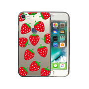 Fruit Phone Case For Iphone 6 6S 7 8 Plus X 5 5S SE Case Slim Clear Soft TPU Back Cover Cute Many Juicy Peach Strawberry Cases