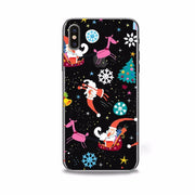 Full Protective Phone Case For IPhone 8 Ultra-thin Christmas Elk Painted Phone Case For IPhone 7 Soft TPU Cover For IPhone 6