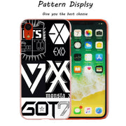 GOT7 JinYoung Jackson Hot Fashion Transparent Hard Phone Cover Case For IPhone X XS Max XR 8 7 6 6s Plus 5 SE 5C 4 4S