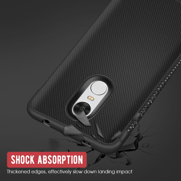 GerTong Cases For Xiaomi Mi A2 Lite A1 Mi5X Cover Heat Dissipation Case Phone Bags Shell For Redmi Note 5 6 Pro 4 4X 6A 5A S2 Y2