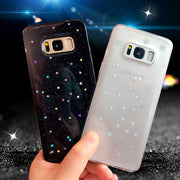 Glitter Stars Bling Case For Samsung Galaxy S8 Plus S8plus Soft TPU Coque Cover For Samsung Galaxy S7 Edge Galaxy S9 Plus Cases
