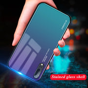 Gradient Tempered Glass Case For Huawei Mate 20 Mate 10 Lite P Smart Plus Nova 2i 3i 3E P20 Lite/Pro Protective Cover Shell Capa