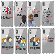 Grey's Anatomy You Are My Person Soft Silicone Back Cover Phone Cases For Iphone 6 6S Plus 7 7plus 8 8plus X 5 5s SE XS MAX XR