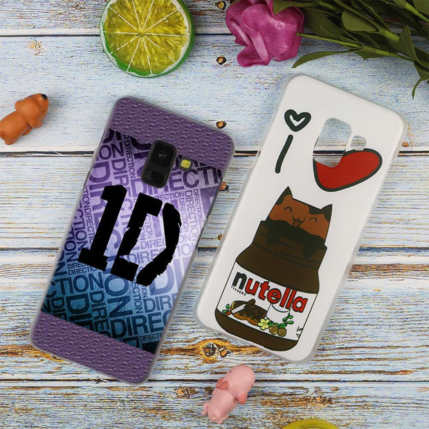 Harry One Direction Tattoos ID Styles Transparent Case For Samsung Galaxy A3 A5 A9 A7 A6 A8 Plus 2018 2017 2016 Star A6S Note9 8