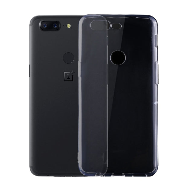Haweel For Oneplus 5T Cover Silicone 0.75mm Ultra-thin Transparent TPU Protective Housing Back Cover For Oneplus 5T Funda Case