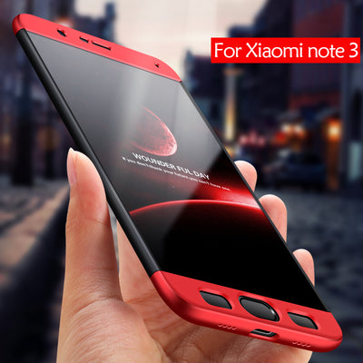 HereCase Original Full Protect Case For Xiaomi Mi Note 3 Case Cover For Xioami Mi Note 3 Coque For Xiomi Mi Note 3 Phone Case 5.