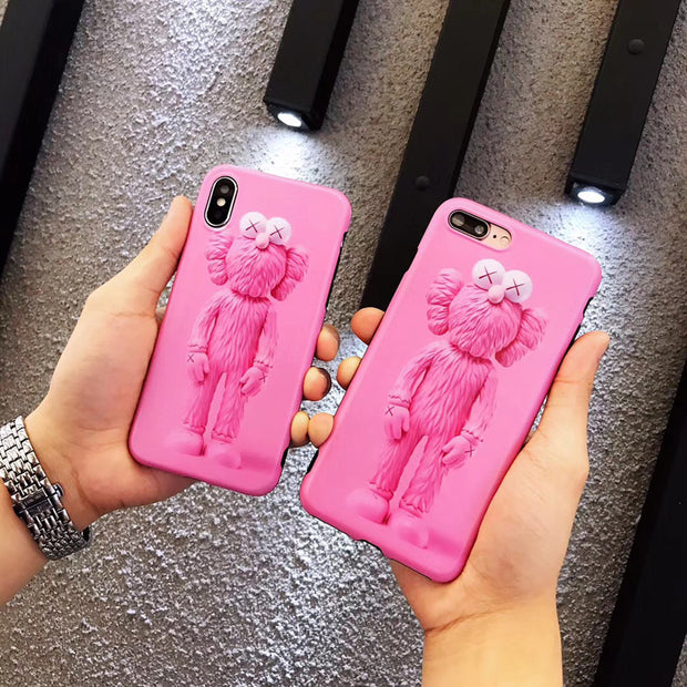High Quality Doll Kaws XX Limited Soft Phone Case For Iphone 6 6s