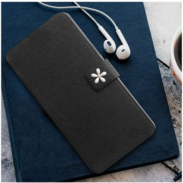 Honor 7 Lite Case Mirror High Quality Pu Leather Flip Stand Cover Phone Cases For Huawei Honor 5C Case Coque Honor 7Lite