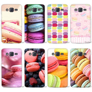 Hot Sale Macarons Clear Case Cover Coque Shell For Samsung Galaxy J1 J2 J3 J5 J7 2016 2017 Emerge
