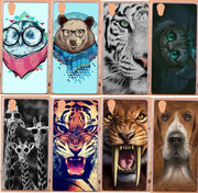 Hot Sale Diy 3d Painted Colored Animals Design Plastic PC Cell Phone Protector Shell Hard Case For Lenovo P70 P70T Phone Cases