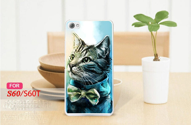 Hot Selling 15 Patterns Case For Lenovo S60 Case Cover Colored Painting Case Cover FOR Lenovo S60 Free Shipping