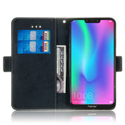Huawei Honor 8C Phone Case Etui On For Fundas Huawei Honor8C Cases Luxury Vintage Flip Wallet Leather Stand Back Cover Coque