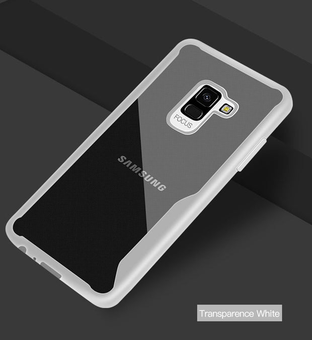 IDOOLS Transparent Case For Samsung Galaxy A8 Plus 2018 A8+ Soft TPU Luxury Back Cover Cases For Samsung A8 2018 Phone Bags