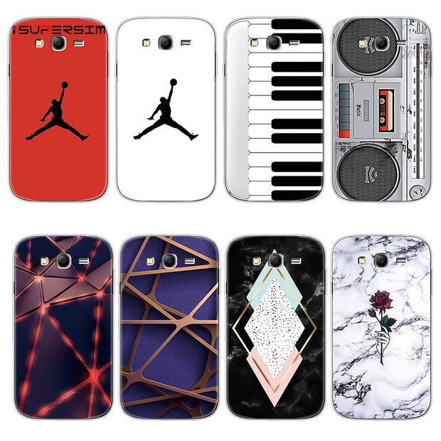 low priced 4564c 198af Jordan Case For Samsung Grand Neo Plus Case Silicone TPU Cover For Samsung  Galaxy Grand Neo Plus I9060 Phone Case Coque Fundas
