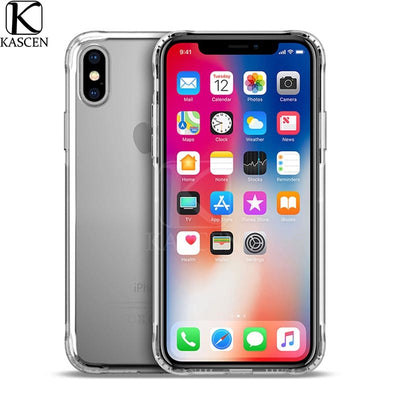 KASCEN Airbag Protective Phone Cases For IPhone XR XS Max X Silicone Soft Transparent Protective Cover Shell For IPhone XS Max