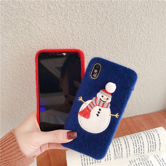 Snowman Bros iphone case