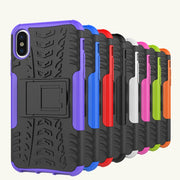Lastest New Color Phone Case For IPhone X 6 6S 7 Plus Case Cover TPU + PC Case With Stand Shell Cover For IPhone 6 6S 7 Plus