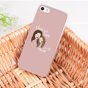 Laumans Gilmore Girls Rory Honorary Transparent Cover Case For Apple IPhone 8 7 6 6S Plus X 5 5S SE 5C 4 4S Cover